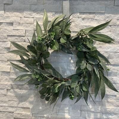 California Eucalyptus Wreath