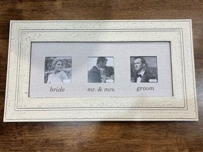 Linen Wedding Frame