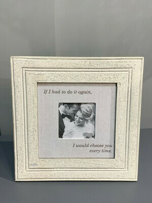 Choose You Distressed Frame