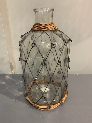 Wire Pattern Bottle