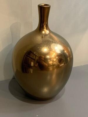 Ansen Metallic Vase Lg