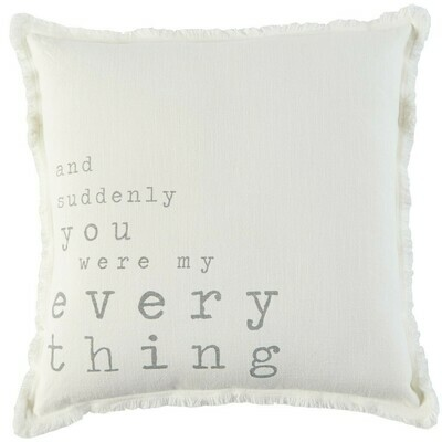 My Everything Pillow