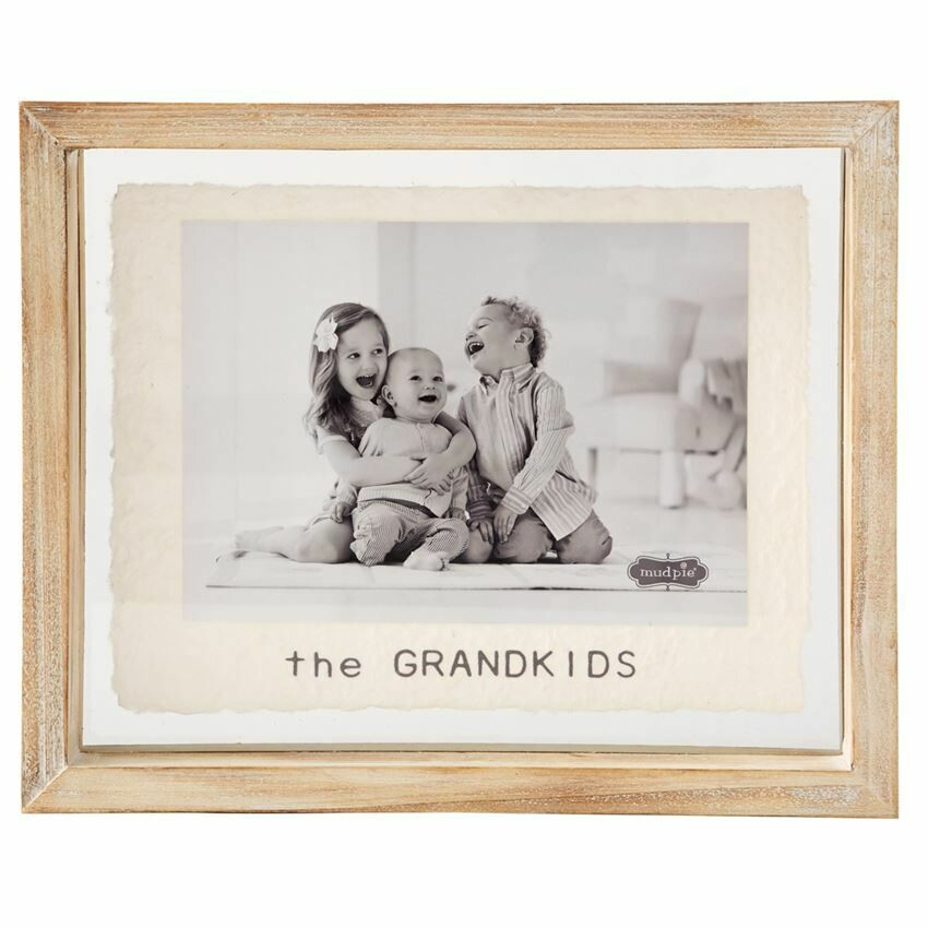 Grandkids Glass Frame