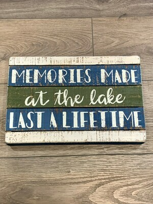 Memories Box Sign