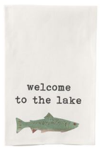 Lake Dish Towel