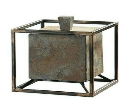 Slate Cube Box Sm