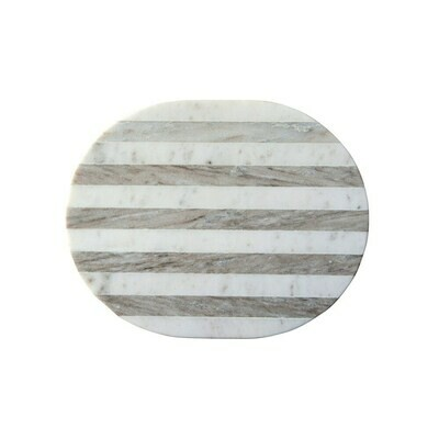 Striped Marble Cheese Board