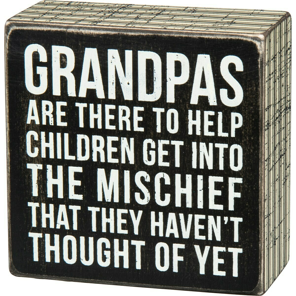 Grandpas Box Sign