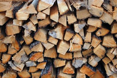 10.00 bin of wood