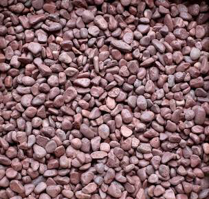 """1/2"""" Red Stone 40 lbs. Bag"""
