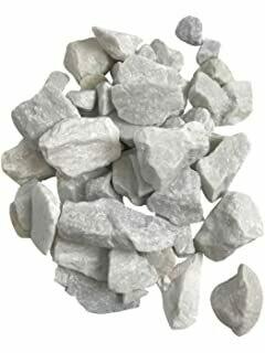 "White Marble 1"" 40 lbs. bag"