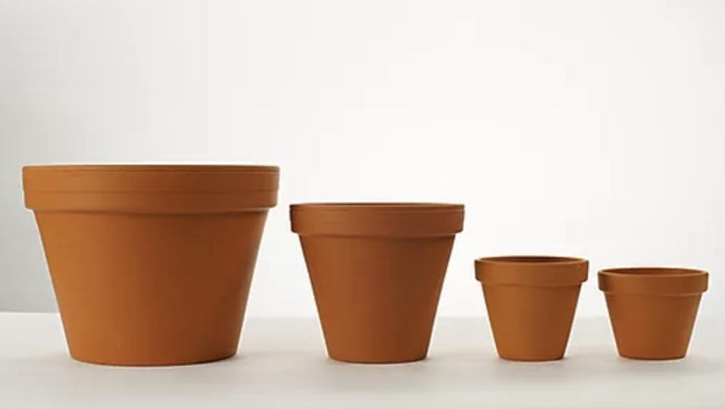 Terra Cotta Standard Clay Pot - 6.5 inch