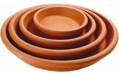 Terra Cotta Clay Saucer - 11 inch