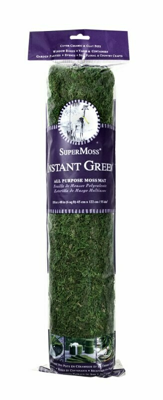 SuperMoss Instant Green All-Purpose Moss Mat