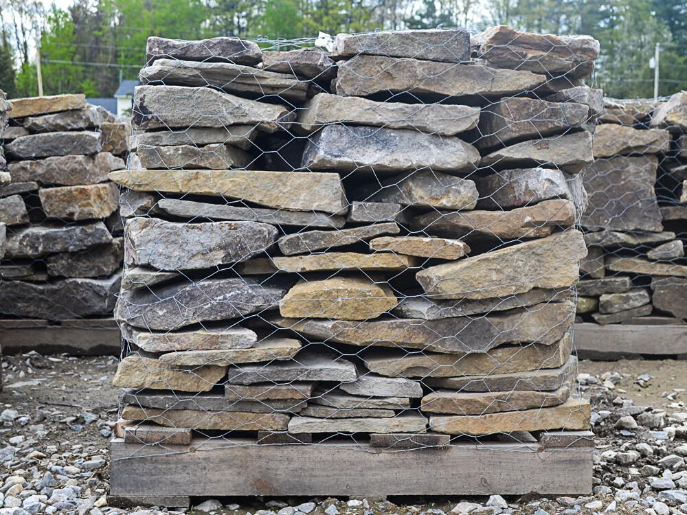 Natural Fieldstone Wallstone  Pallet