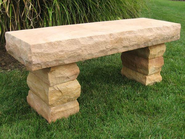 "Bench Sunset Sandstone 48"""
