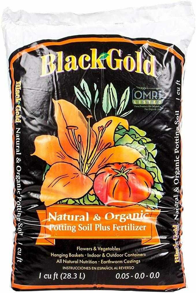 Black Gold Natural and Organic Potting Mix 1 cu. ft.