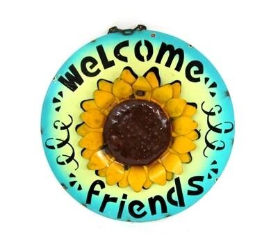Sunflower Screen Welcome Friends