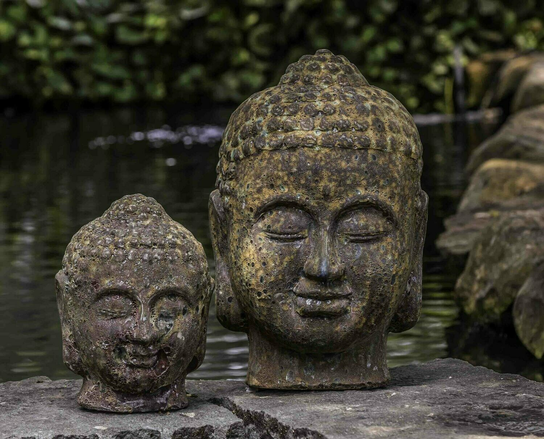 Angkor Buddha Head - Large