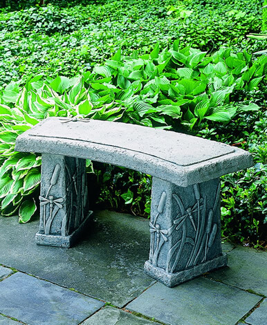 Dragonfly Curved Bench (AS)
