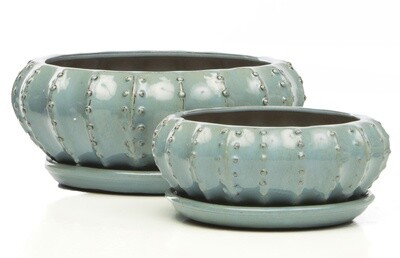 Tureen Bowl w/ Attached Saucer, Spa - Large