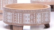 Footed Drum Bowl Petits Pot