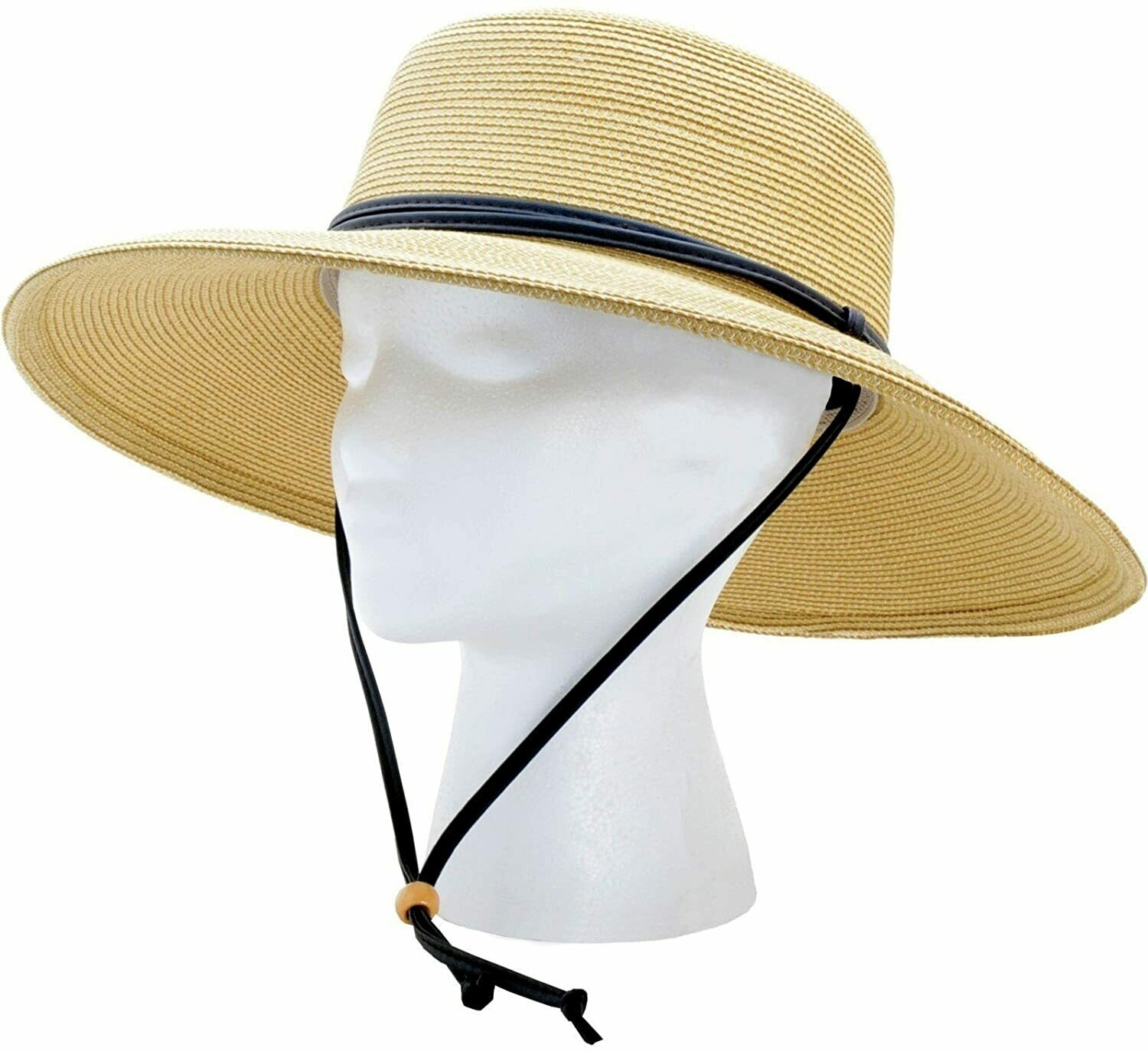 Hat Woman's Wide Brim Medium light brown