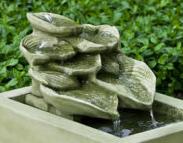 Cascading Hosta Fountain (EM)