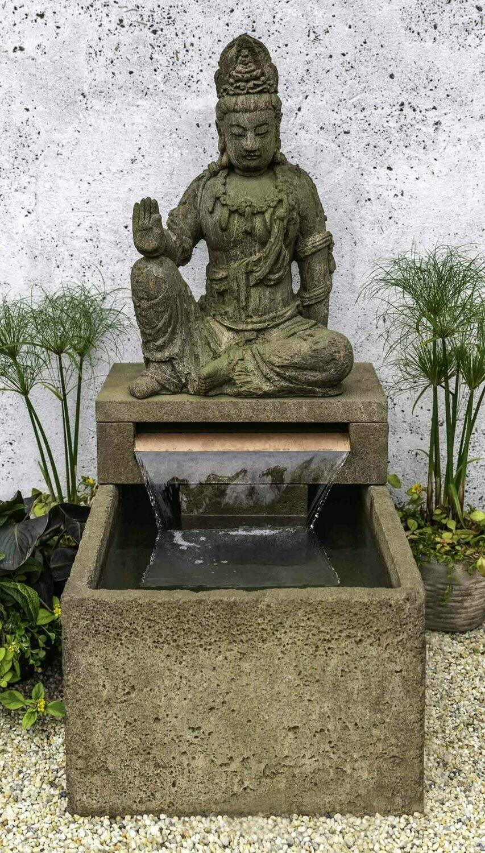 Antique Quan Yin Buddha Fountain