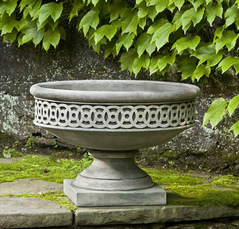 Williamsburg Low Fretwork Urn