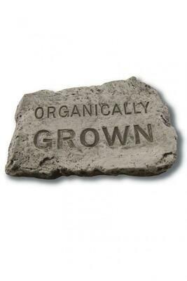 "Organically Grown - Stone 10"""