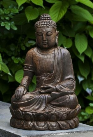Antique Lotus Buddha (PN)