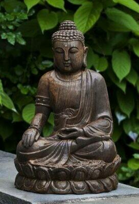 Antique Lotus Buddha (PN)