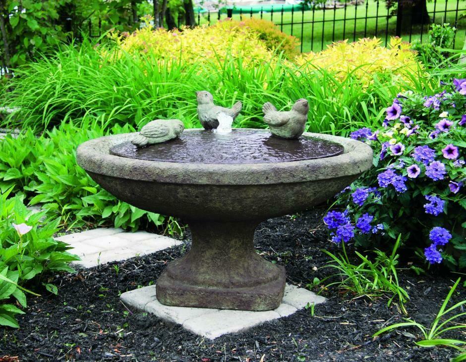 "16"" Singing Birds Fountain"