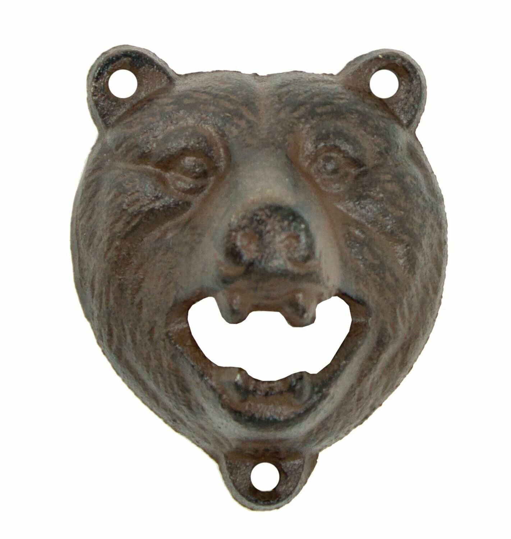 Bear Bottle Opener - Cast Iron