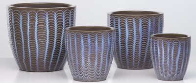 Lilac Wave Planter - Orchid - Small