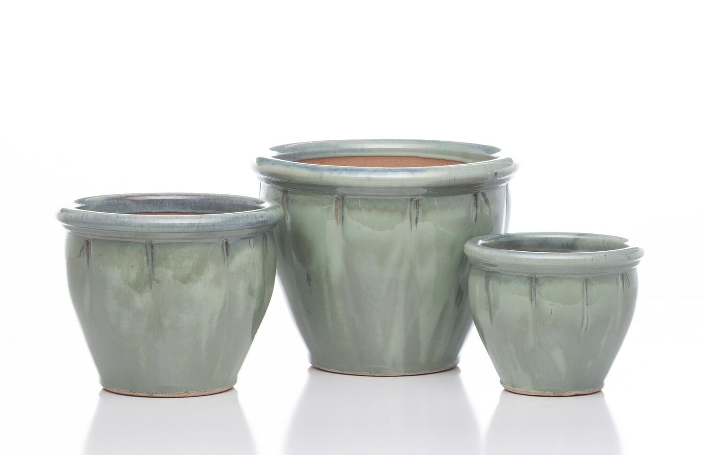 BF Belly Planter  - Jade Green Medium