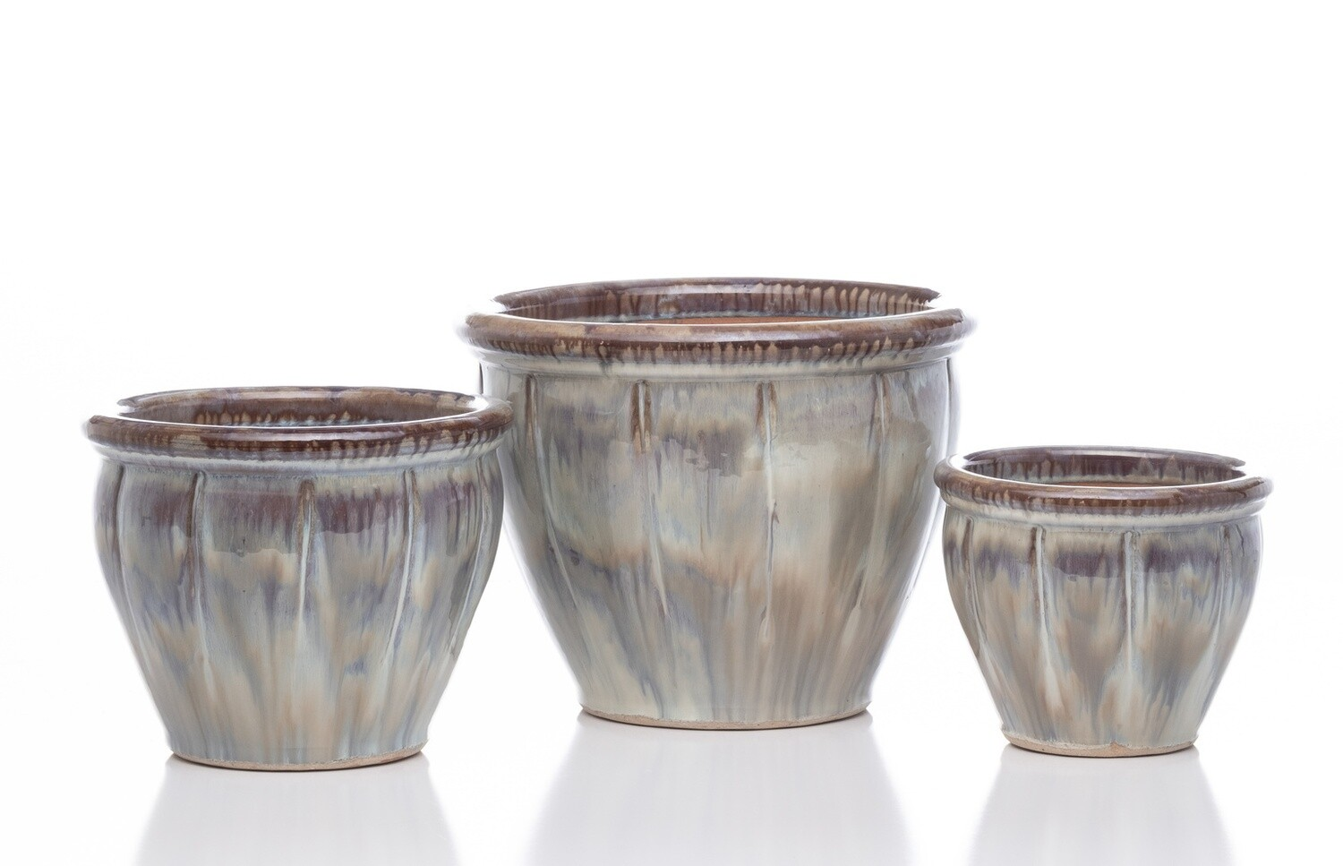 BF Belly Planter  - Brown Blend Small