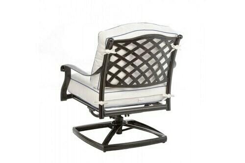 Twining Dining Swivel Arm Chair