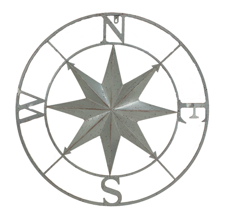 """Compass Wall Hanger - 27"""""""