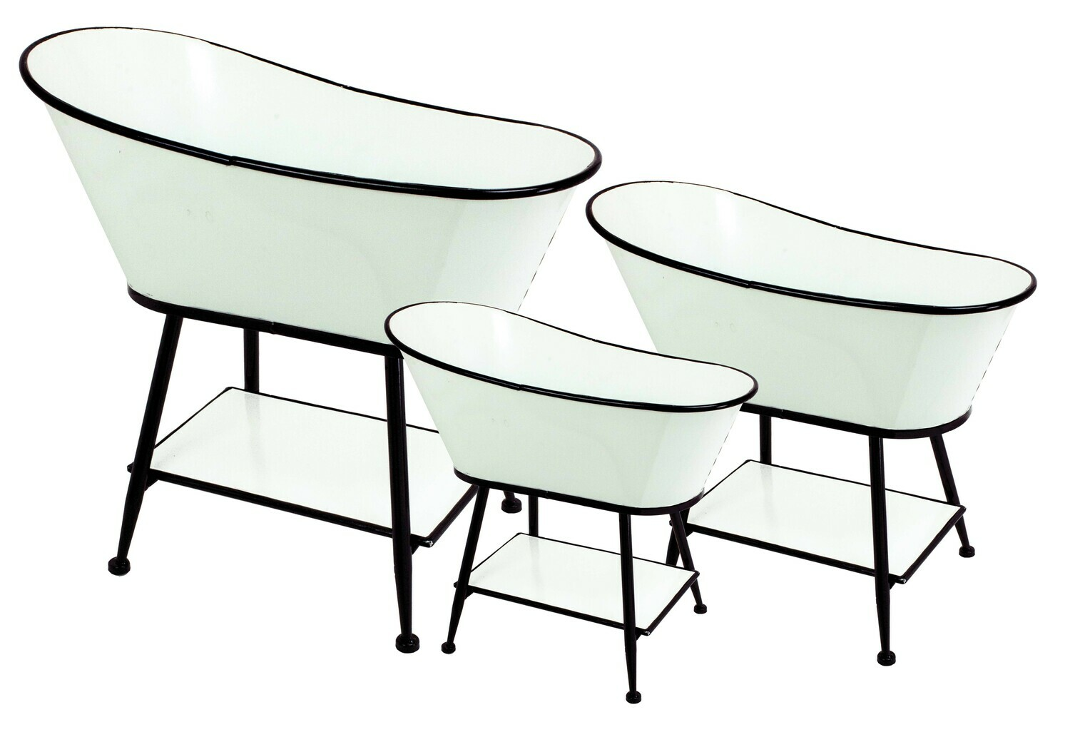 Standing Tub Planters - Large