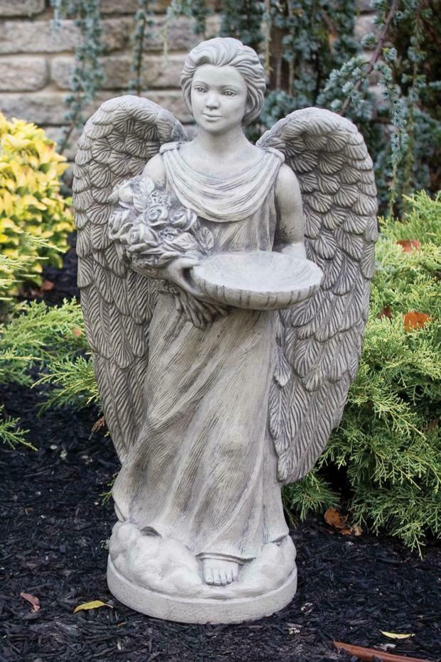"Rosebud Angel with Feeder 28"""