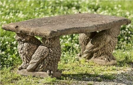Owl Bench