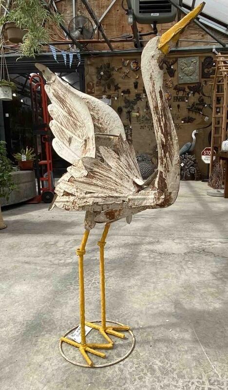 Egret Open Wings