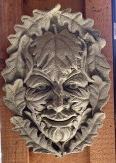 Leaf Man Face