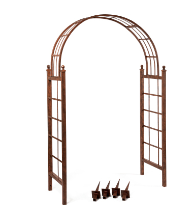 Arch Lattice with Ground Stakes