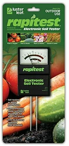 Rapid Test Electronic Soil Tester