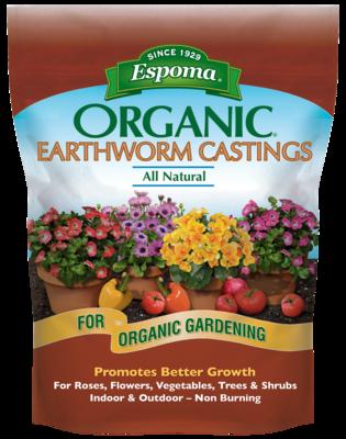Organic Earthworm Castings
