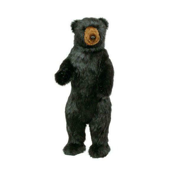 "Bear Standing Black 36"""