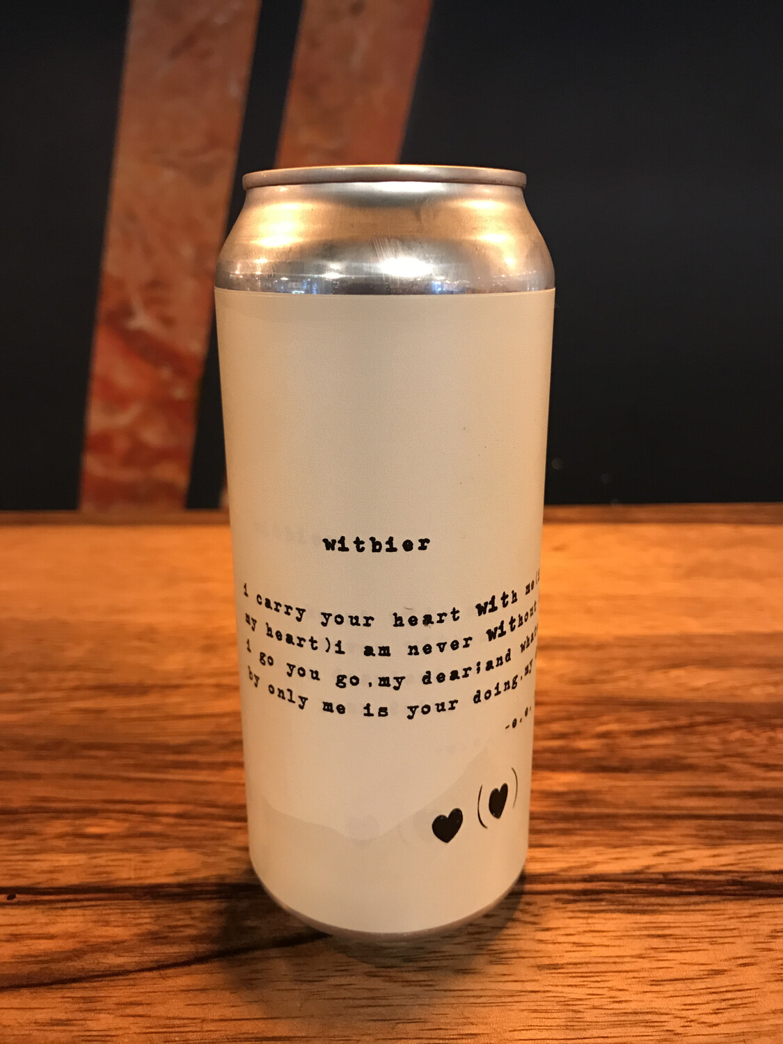 Lowercase Witbier